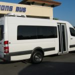Freightliner 15 passenger charter shuttle coach bus for sale - Diesel 5