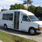 Chevy 3500 14 passenger charter shuttle coach bus for sale - Gas 1