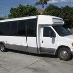 Ford E450 26 passenger charter shuttle coach bus for sale - Gas 1