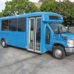 Ford E450 19 passenger charter shuttle coach bus for sale - Propane 1