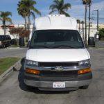 Chevy 3500 14 passenger charter shuttle coach bus for sale - Gas 2