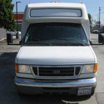 Ford E450 26 passenger charter shuttle coach bus for sale - Gas 2