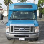 Ford E450 19 passenger charter shuttle coach bus for sale - Propane 2