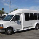 Chevy 3500 14 passenger charter shuttle coach bus for sale - Gas 3