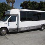 Ford E450 26 passenger charter shuttle coach bus for sale - Gas 3