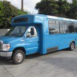 Ford E450 19 passenger charter shuttle coach bus for sale - Propane 3