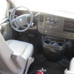 Chevy 3500 14 passenger charter shuttle coach bus for sale - Gas 7