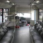 Ford E450 19 passenger charter shuttle coach bus for sale - Propane 8