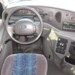 Ford E450 21 passenger charter shuttle coach bus for sale - Gas 8