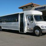 Freightliner M2 49 passenger charter shuttle coach bus for sale - Diesel 1