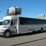 Freightliner M2 49 passenger charter shuttle coach bus for sale - Diesel 3