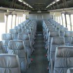 Freightliner M2 49 passenger charter shuttle coach bus for sale - Diesel 6