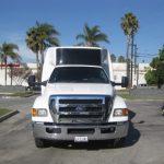 Ford F650 39 passenger charter shuttle coach bus for sale - Diesel 3