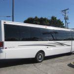 Ford F650 39 passenger charter shuttle coach bus for sale - Diesel 4