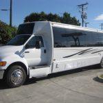 Ford F650 39 passenger charter shuttle coach bus for sale - Diesel 2