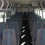 Ford F650 39 passenger charter shuttle coach bus for sale - Diesel 6