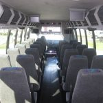 Ford F650 39 passenger charter shuttle coach bus for sale - Diesel 7