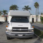 Chevy C5500 30 passenger charter shuttle coach bus for sale - Gas 3