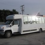 Chevy C5500 30 passenger charter shuttle coach bus for sale - Gas 2