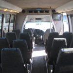 Ford E450 28 passenger charter shuttle coach bus for sale - Gas 7