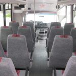 Ford E450 24 passenger charter shuttle coach bus for sale - Gas 6