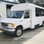 Ford E450 14 passenger charter shuttle coach bus for sale - Gas 7