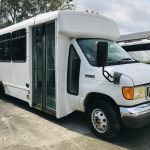 Ford E450 14 passenger charter shuttle coach bus for sale - Gas 1