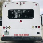 Ford E450 14 passenger charter shuttle coach bus for sale - Gas 4