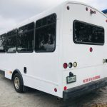 Ford E450 14 passenger charter shuttle coach bus for sale - Gas 5