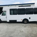 Ford E450 14 passenger charter shuttle coach bus for sale - Gas 6