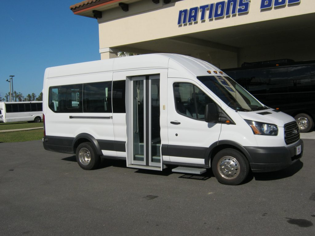 148 Transit 350 Wagon 9 passenger charter shuttle coach bus for sale - Gas