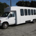 Ford E450 28 passenger charter shuttle coach bus for sale - Gas 3