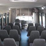 Ford E450 28 passenger charter shuttle coach bus for sale - Gas 7