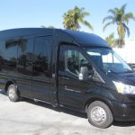 Ford Transit  13 passenger charter shuttle coach bus for sale - Gas 1