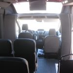 Ford Transit  13 passenger charter shuttle coach bus for sale - Gas 6