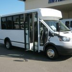 Ford Transit 12 passenger charter shuttle coach bus for sale - Gas 1