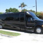 Ford F650 42 passenger charter shuttle coach bus for sale - Diesel 1