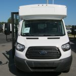 Ford Transit 12 passenger charter shuttle coach bus for sale - Gas 2