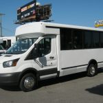Ford Transit 12 passenger charter shuttle coach bus for sale - Gas 3