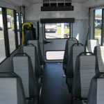 Ford Transit 12 passenger charter shuttle coach bus for sale - Gas 6