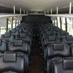 Ford F650 42 passenger charter shuttle coach bus for sale - Diesel 5
