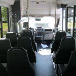 Ford Transit 12 passenger charter shuttle coach bus for sale - Gas 7
