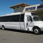 International 36 passenger charter shuttle coach bus for sale - Diesel 1