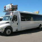 International 36 passenger charter shuttle coach bus for sale - Diesel 3