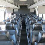 International 36 passenger charter shuttle coach bus for sale - Diesel 5
