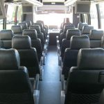 International 36 passenger charter shuttle coach bus for sale - Diesel 6