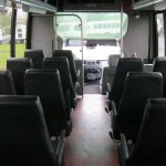 Ford F550 28 passenger charter shuttle coach bus for sale - Gas 7