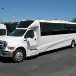 Ford F650 39 passenger charter shuttle coach bus for sale - Diesel 3