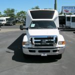 Ford F650 39 passenger charter shuttle coach bus for sale - Diesel 2