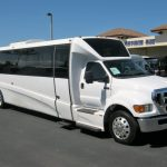Ford F650 39 passenger charter shuttle coach bus for sale - Diesel 1